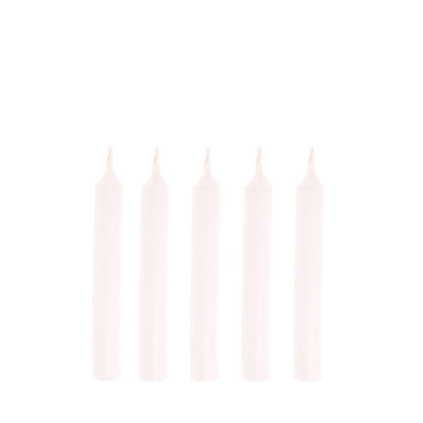 Goki Birthday Candles White - 10 Pieces