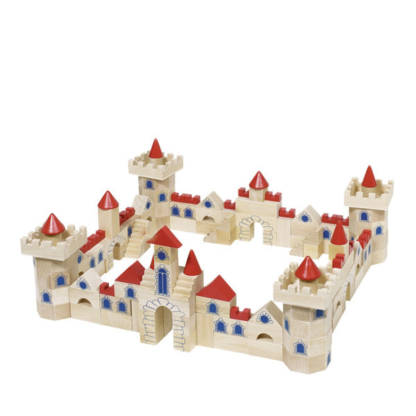 Goki Castle Building Bricks - 145 Pcs