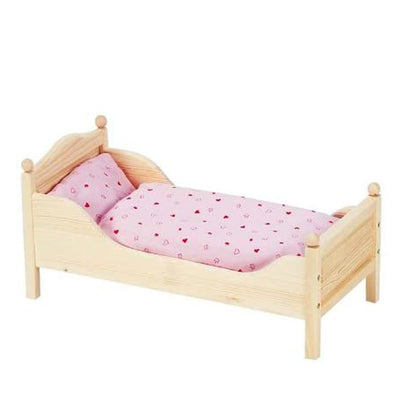 Goki Wooden Doll's Bed