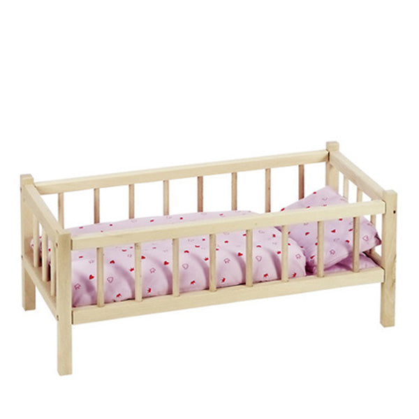 Goki Wooden Dolls Bed - Elenfhant