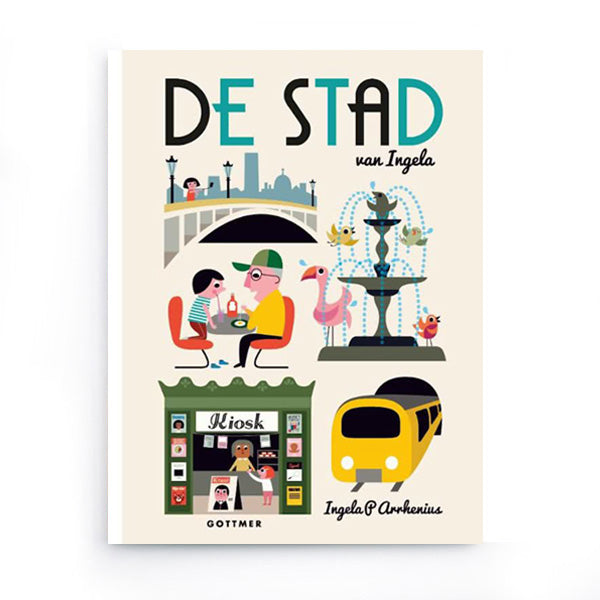 De Stad by Ingela P. Arrhenius – Dutch