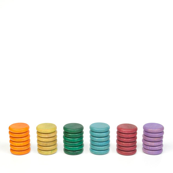 Grapat Coins - 6 Colors