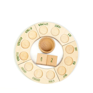 Grapat Perpetual Calendar without Nins - English