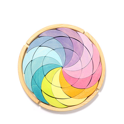 Grimm's Building Set Colorwheel - Pastel