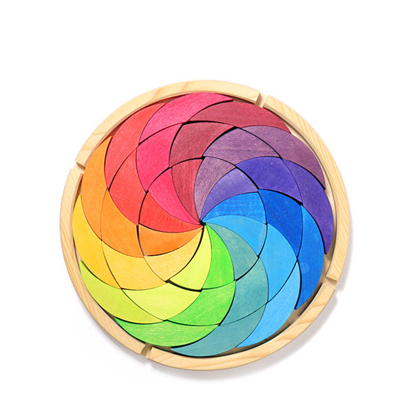 Grimm's Building Set Colorwheel - Rainbow