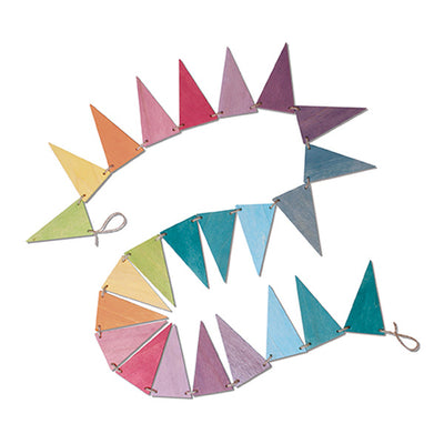 Grimm's Pennant Banner - Pastel