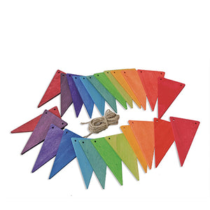 Grimm's Pennant Banner - Rainbow