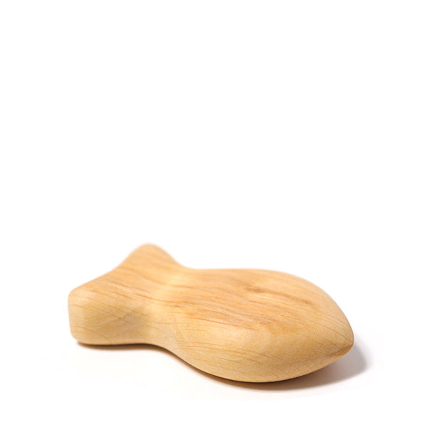 Grimm's Wooden Rattle - Fish Moby