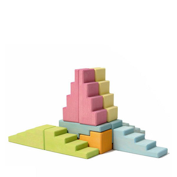 Grimm's Stepped Roofs - Pastel