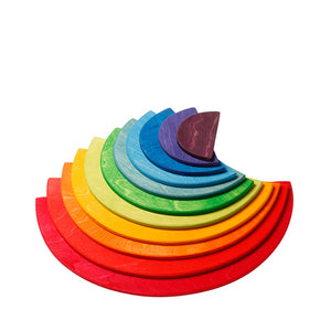 Grimm's Large Semicircles 11 Pieces - Rainbow