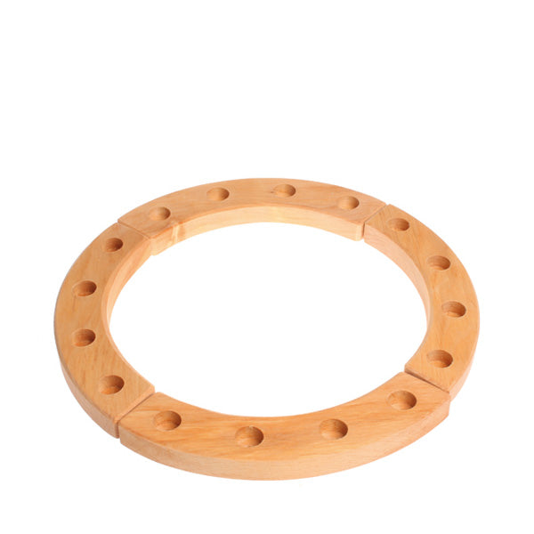 Grimm's Wooden Birthday Ring 16 Years - Natural