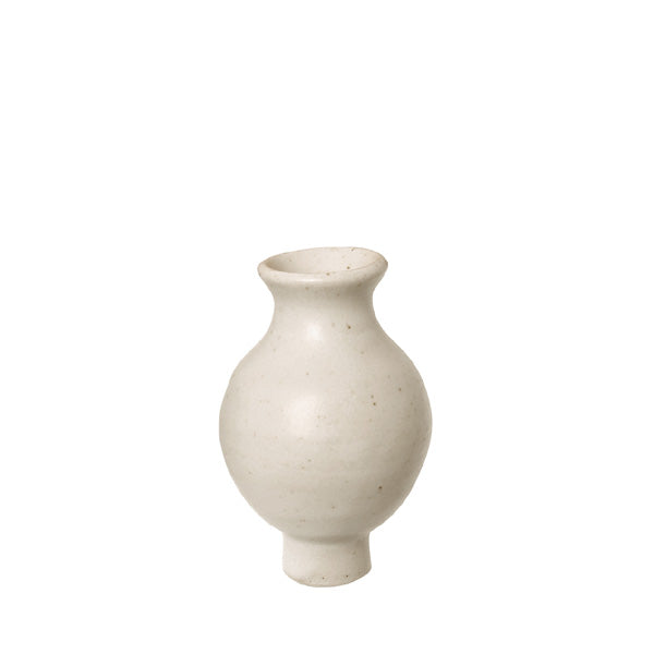 Grimm's Decorative Figure – White Vase