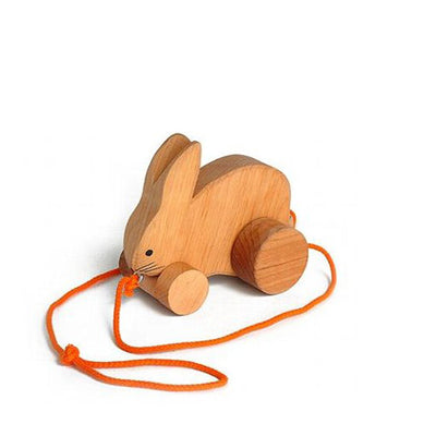 Grimm's Pull Along Toy – Bobbing Rabbit