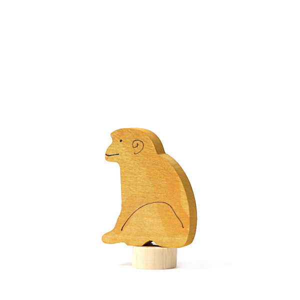 Grimm's Decorative Figure – Monkey Sitting