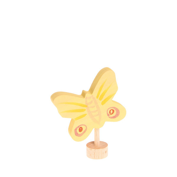 Grimm's Decorative Figure - Yellow Butterfly