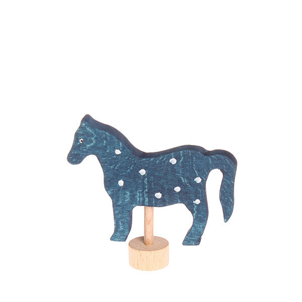 Grimm's Decorative Figure – Horse Blue