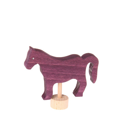 Grimm's Decorative Figure – Horse Red