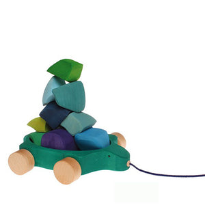 Grimm's Pull Along Toy - Water Turtle