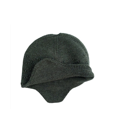 Hvid Knitted Hat Dua - Pine