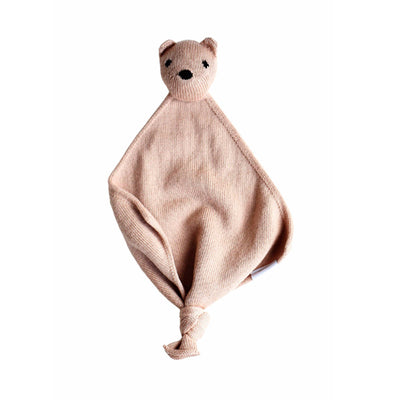 Hvid Teddy Tokki Cuddle Cloth – Blush