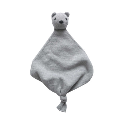 Hvid Teddy Tokki Cuddle Cloth – Grey Melange
