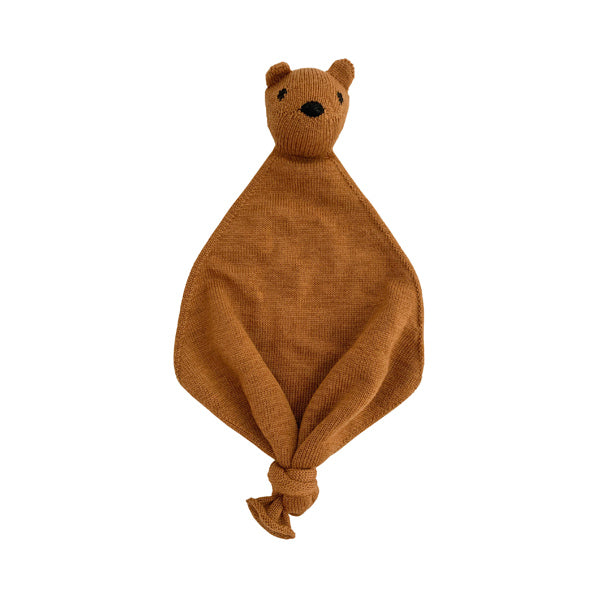 Hvid Teddy Tokki Cuddle Cloth – Rust