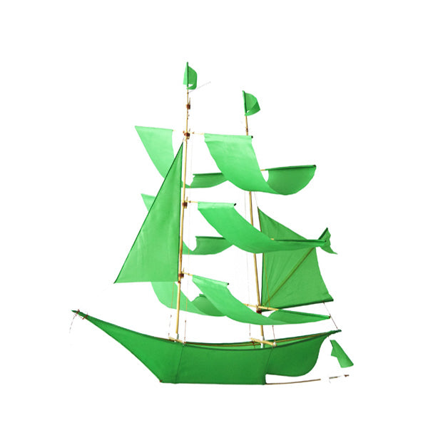 Haptic Lab Sailing Ship Kite – Green