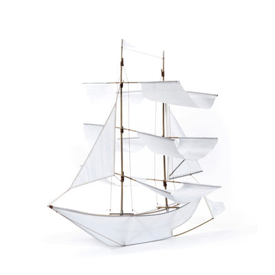 Haptic Lab Sailing Ship Kite – White
