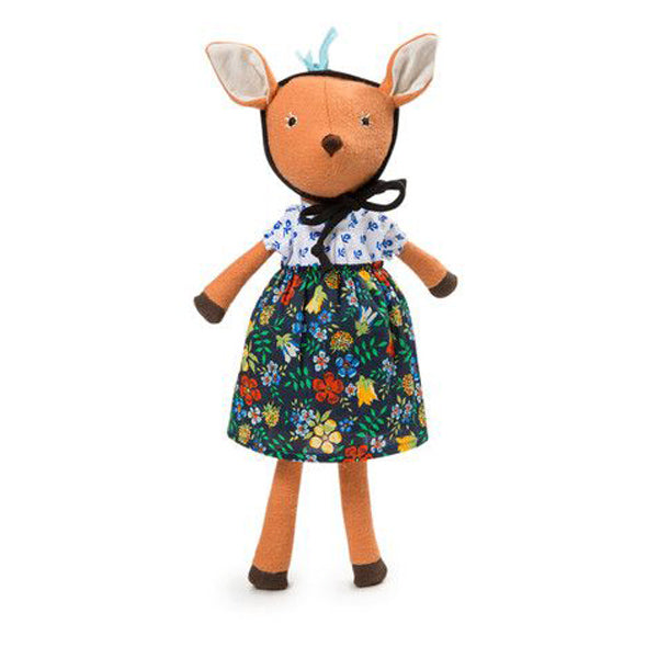Hazel Village Phoebe Fawn in Cornflower Blouse Outfit