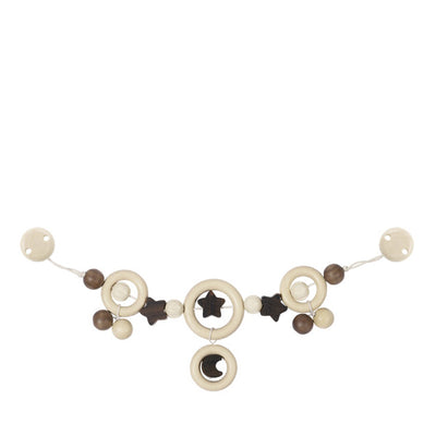 Heimess Nature Pram Chain - Moon and Star