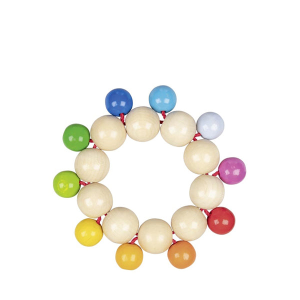 Heimess Beads Touch Ring – Rainbow