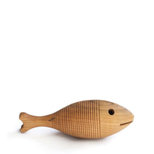 Hohenfried Wooden Rattle - Fish