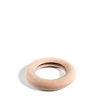 Hohenfried Wooden Rattle - Running Ring Inside