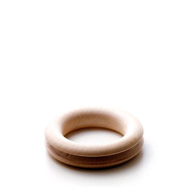 Hohenfried Wooden Rattle - Running Ring Outside