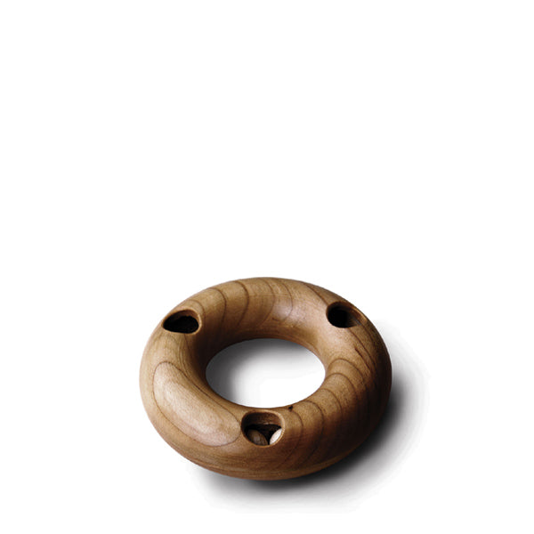 Hohenfried Wooden Rattle - Three Hole Ring