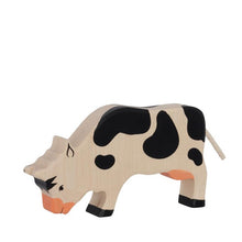 Holztiger Cow – Grazing – Black