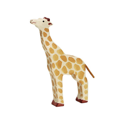 Holztiger Wooden Giraffe – Head Raised