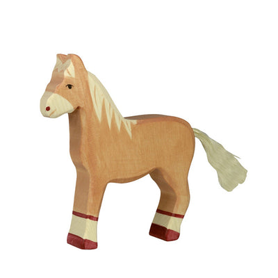 Holztiger Horse – Standing – Light Brown