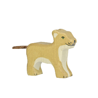 Holztiger Wooden Lion - Small