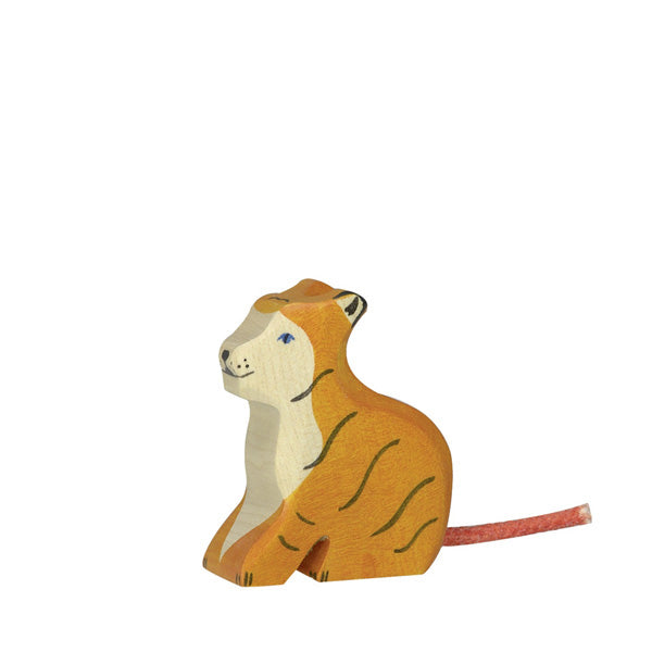 Holztiger Tiger Small - Sitting