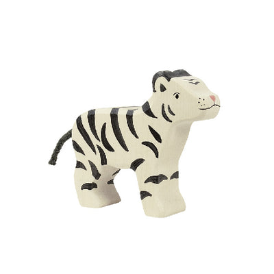 Holztiger Wooden White Tiger – Small