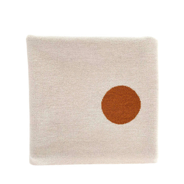 Hvid Blanket Edie – Off White/Rust