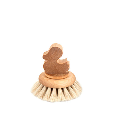 Iris Hantverk Bath Brush Duck