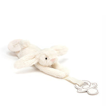 Jellycat Bashful Bunny Dummy Holder – Cream