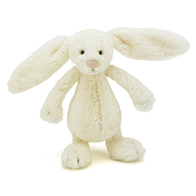 Jellycat Bashful Bunny Cream Small Soft Toy 18cm