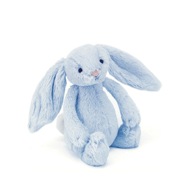 Jellycat Bashful Bunny Rattle – Blue
