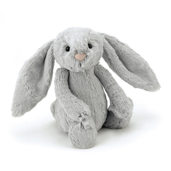 Jellycat Soft Toy Bashful Bunny Silver Medium 31cm