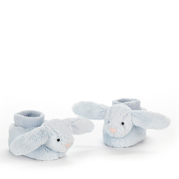 Jellycat Bashful Bunny Booties – Blue