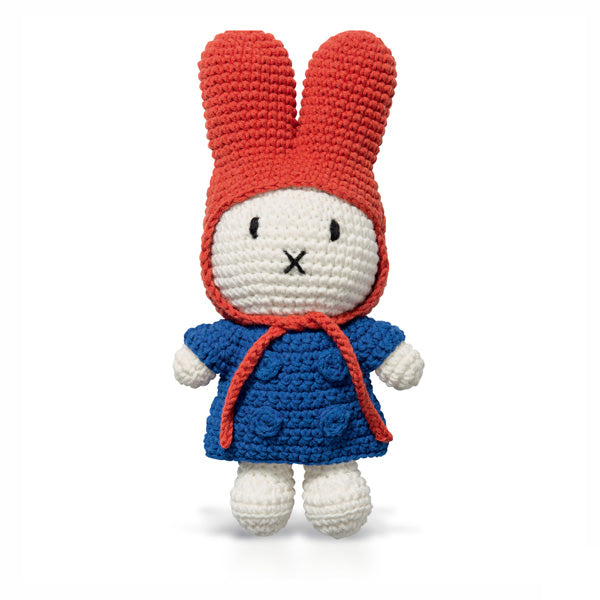 Just Dutch Miffy – Blue Coat and Red Hat