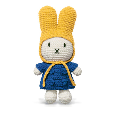 Just Dutch Miffy – Blue Coat and Yellow Hat